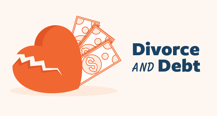 divorce and debt