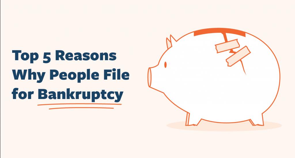 Reasons File Bankruptcy